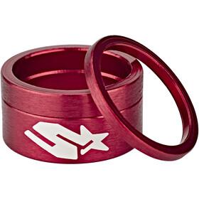 Spank Headset Spacer Kit 3 Stück rot